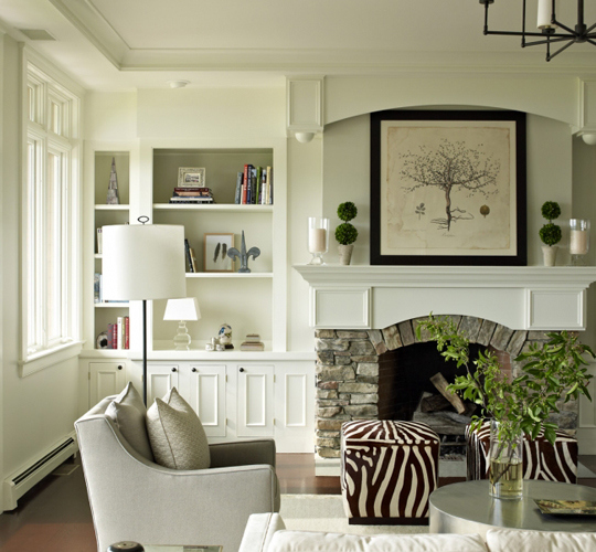 animal-print-neutral-living-room-zebra-cube-ottomans